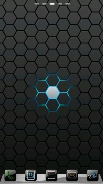 黑色科技蜂巢背景素材