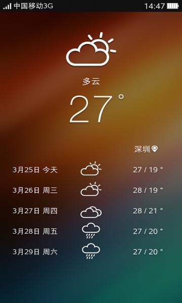 东莞市永盛通信科技有限公司    应用截图   可可桌面,让手机好看更图片