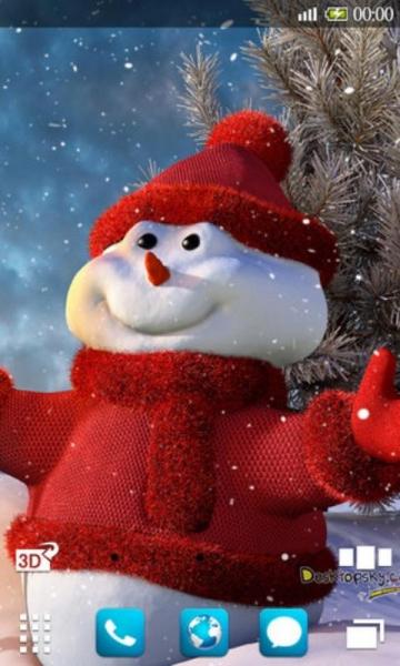 圣诞小雪人壁纸下载_圣诞小雪人壁纸手机版下载_圣诞