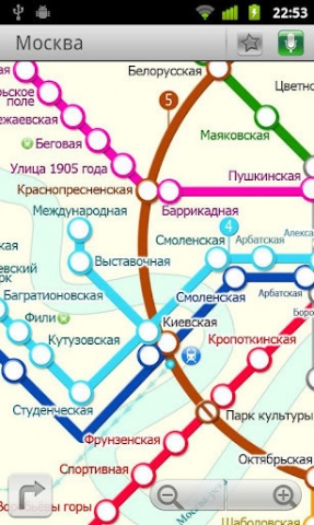 莫斯科(地铁24地图数据)