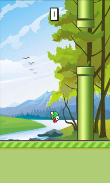 小鸟飞翔动画