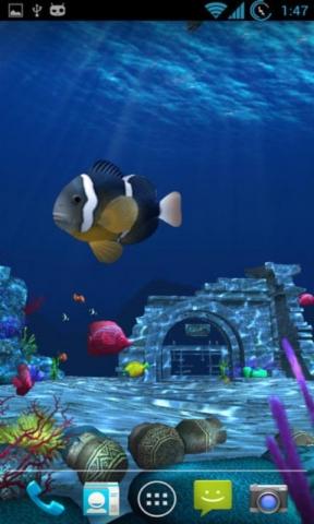 壁纸 海底 海底世界 海洋馆 水族馆 288_480 竖版 竖屏 手机