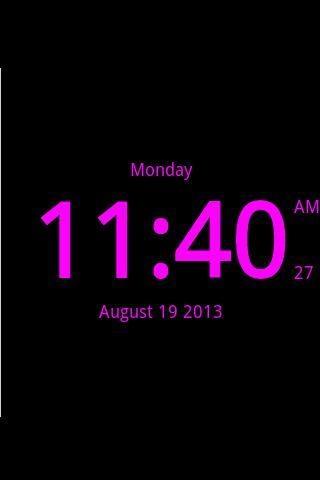 桌面数字时钟