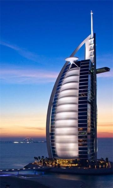 迪拜城市风景手机壁纸 v1.