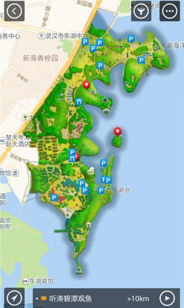 武汉昙华林地图