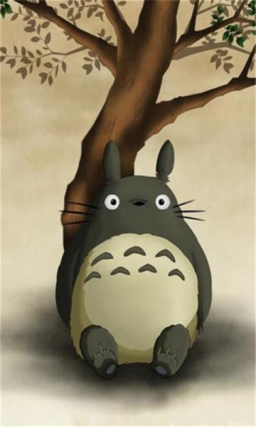 宫崎骏可爱龙猫壁纸下载