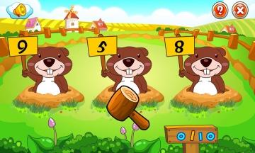 儿童游戏学数字-截图