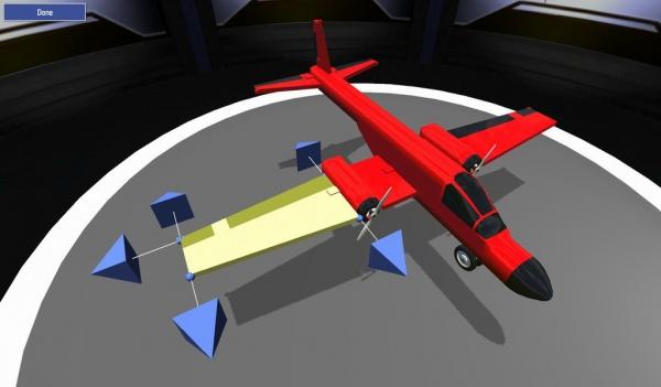 体验自己组装的飞机是否牢固吧!