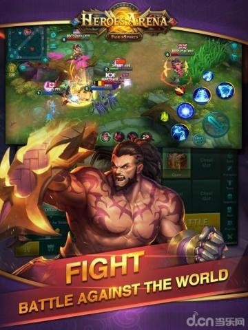 英雄血战 Heroes Arena -截图