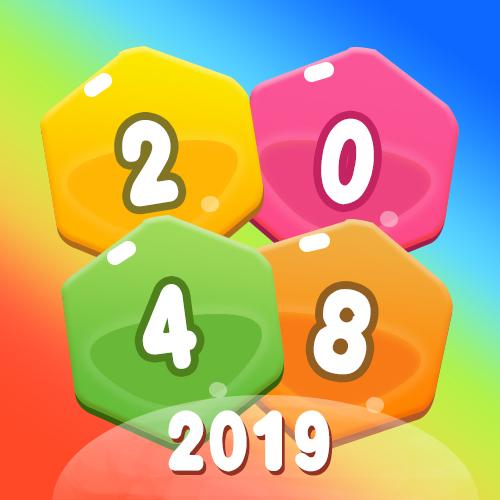 2048消除六角