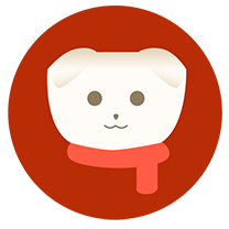 春节红围巾头像