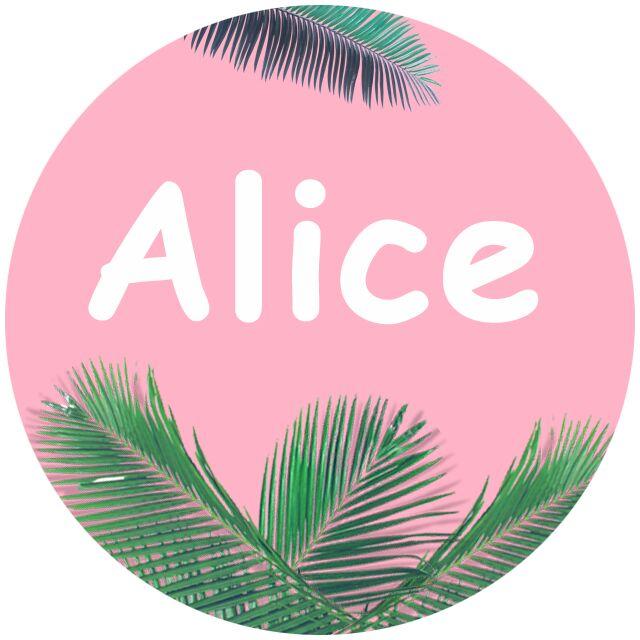 爱丽丝衣单