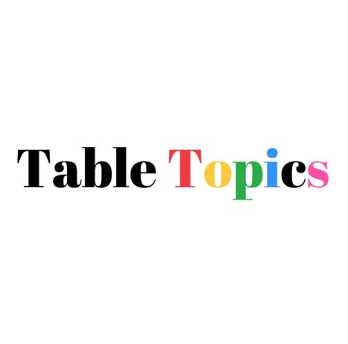 Table Topics 头马即兴演讲助手
