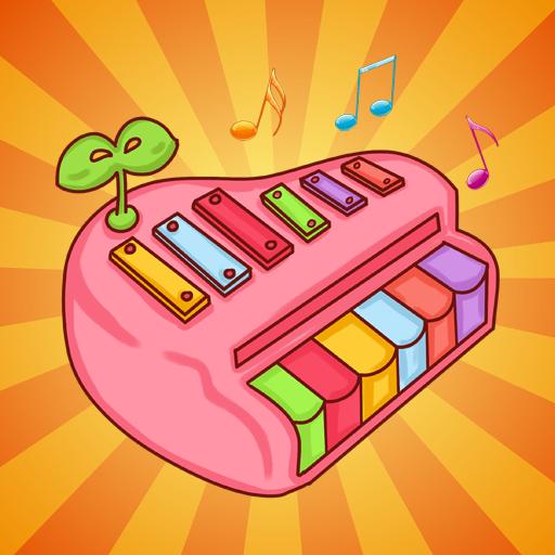 孩子练钢琴